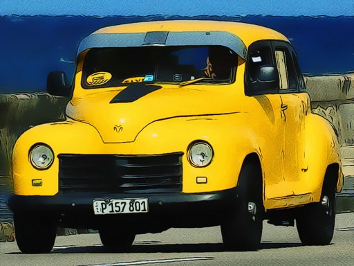 Cuban Taxi Vehicles